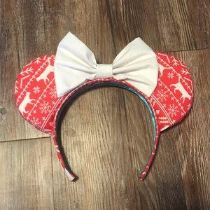 Christmas Sweater Cat Mickey Disney Ears
